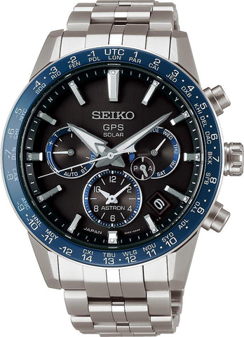 Seiko Astron Watch Caliber 5X Solar GPS Mens