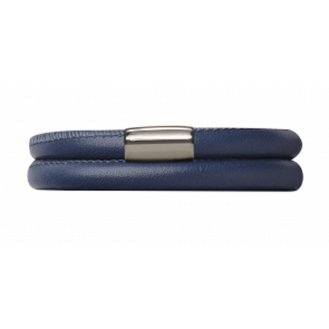 Endless Jewellery Bracelet Navy Leather 38 cm