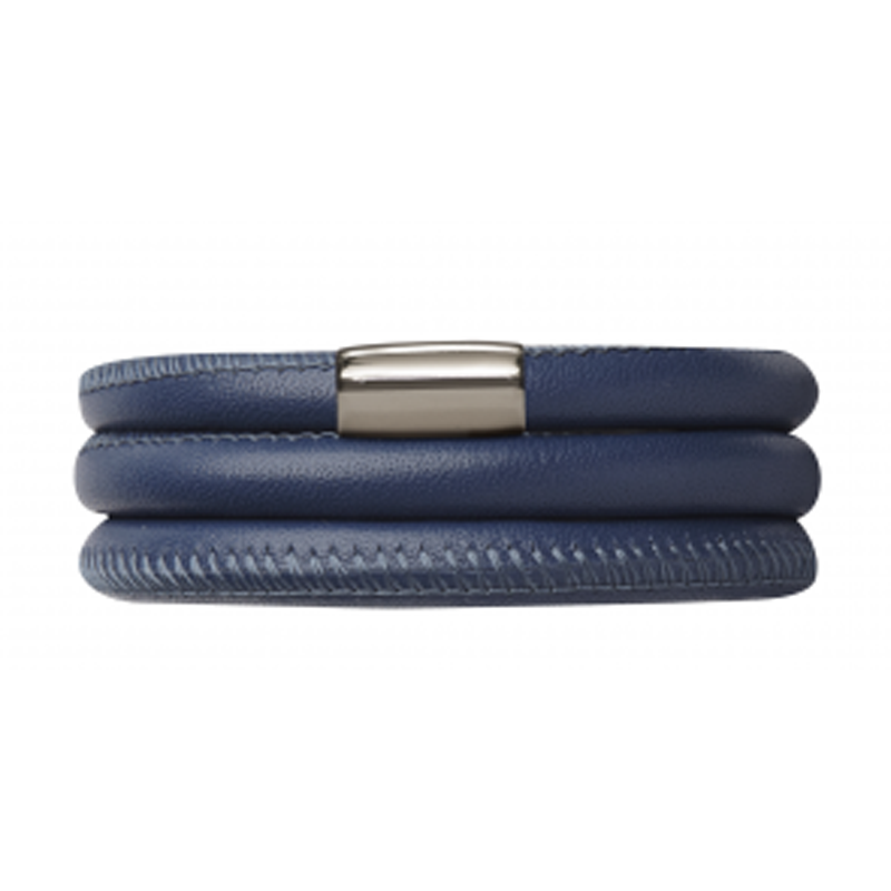 Endless Jewellery Bracelet Navy Leather 60 cm