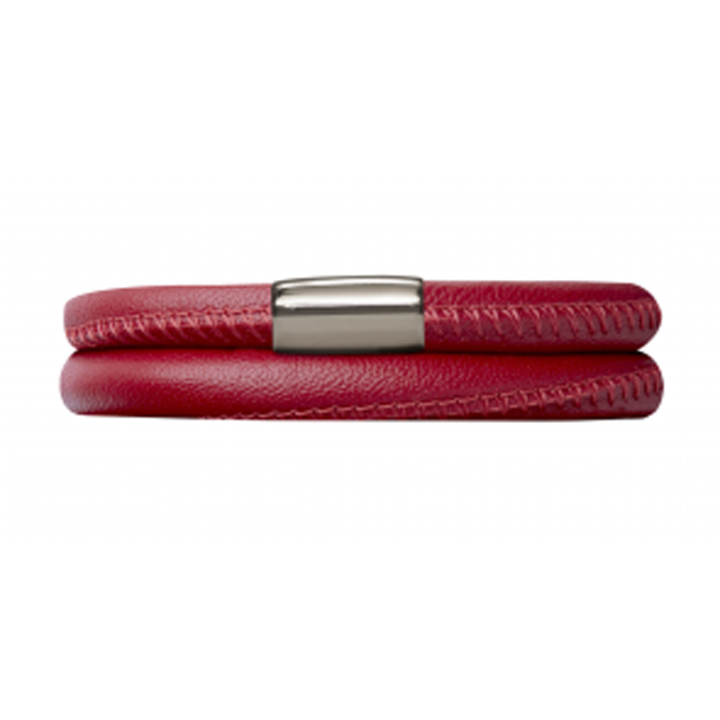 Endless Jewellery Bracelet Red Leather 40 cm