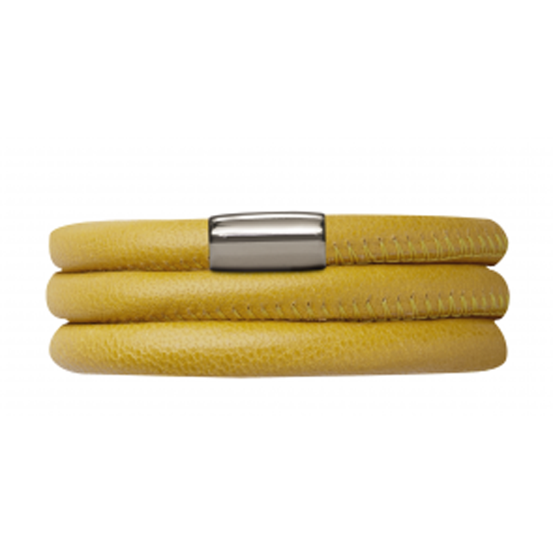 Endless Jewellery Bracelet Yellow Leather 63 cm