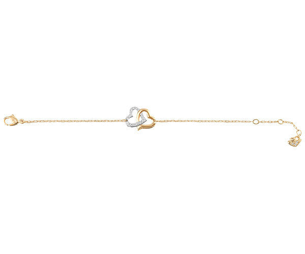 Swarovski Bracelet Match Yellow Gold