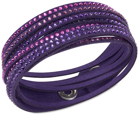 Swarovski Bracelet Slake Purple Synthetic