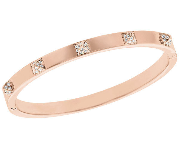 Swarovski Bracelet Tactic Thin Rose Gold M
