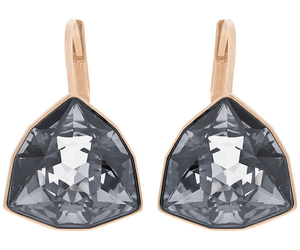 Swarovski Earrings Brief Pierced Rose Gold