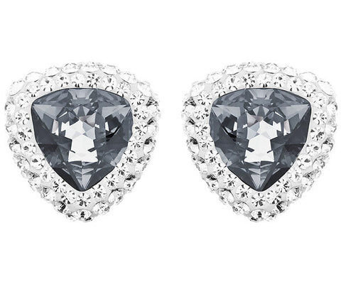 Swarovski Crystal Begin Stud Pierced Earrings