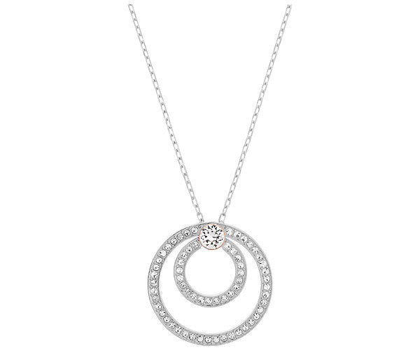 Swarovski Pendant Biography Rhodium