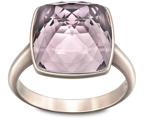 Swarovski Ring Tempo Antique Pink Rose Gold Large