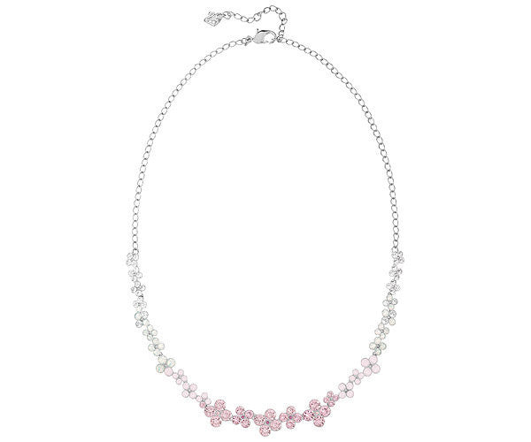 Swarovski Necklaces Cherie Rhodium