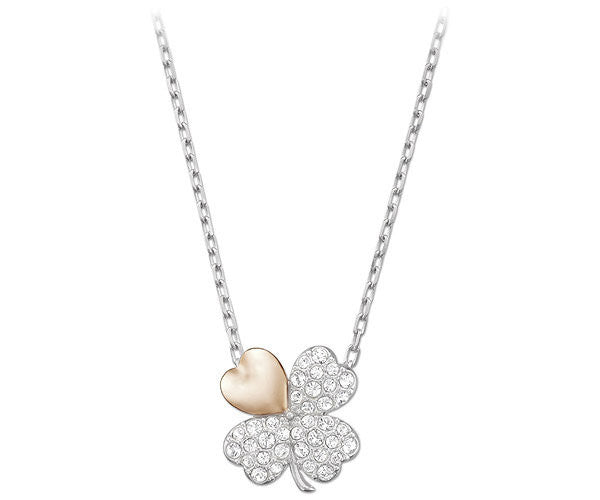 Swarovski Necklaces Better Clover Rhodium