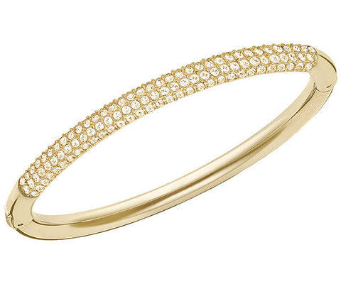 Swarovski Bangle Stone Mini Yellow Gold M