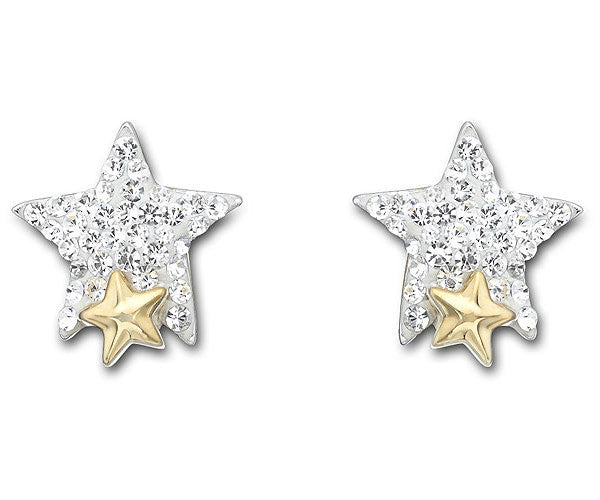 Swarovski Earrings Tough Star Pierced