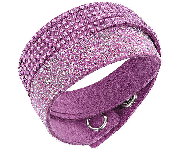 Swarovski Bracelet Slake Purple Duo Synthetic