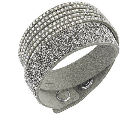 Swarovski Bracelet Slake Grey Duo Synthetic