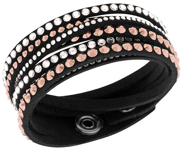 Swarovski Bracelet Slake Deluxe Black Synthetic
