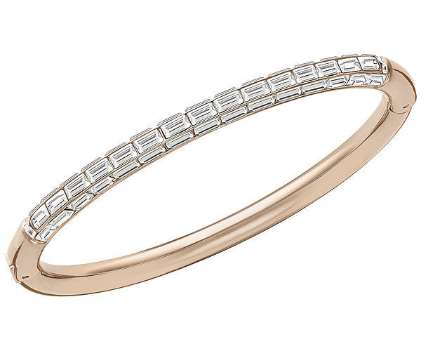Swarovski Bangle Domino Rose Gold Medium