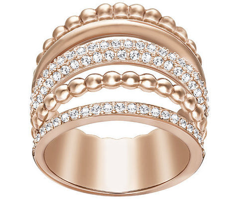 Swarovski Ring Click Rose Gold