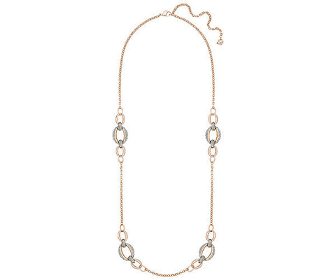 Swarovski Necklace Circlet Strandage Rose Gold