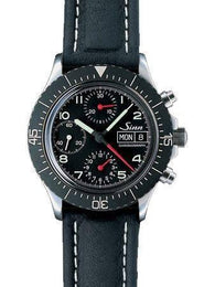 Sinn Universal Chronograph 256 D 256.010 Leather Strap
