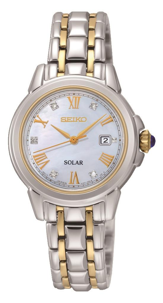 Seiko Watch Solar Ladies SUT244P9