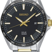 Seiko Watch Solar Chronographs SNE485P1