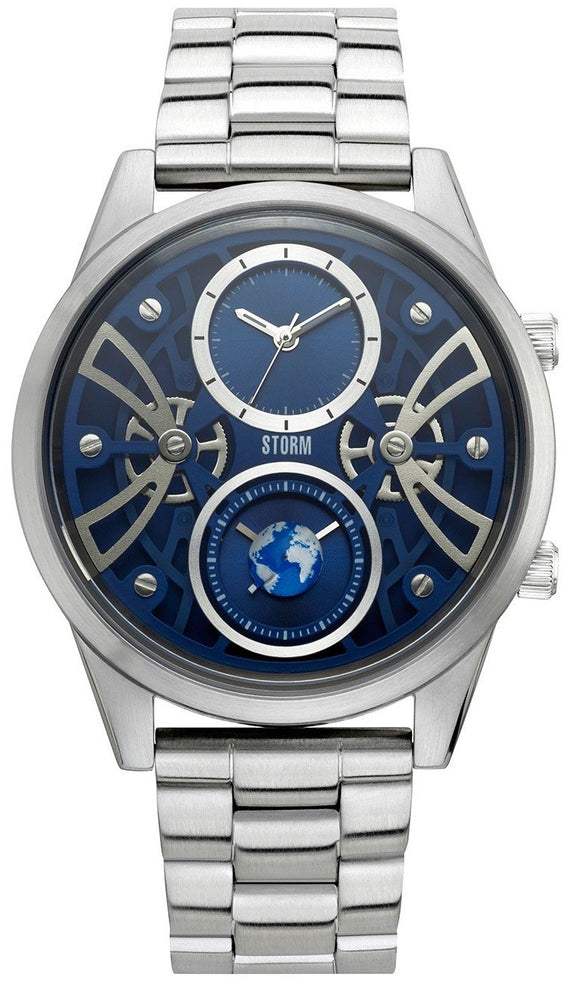 Storm Watch Globe X Blue Mens 47441/B