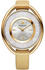 Swarovski Watch Crystalline Oval Gold Tone