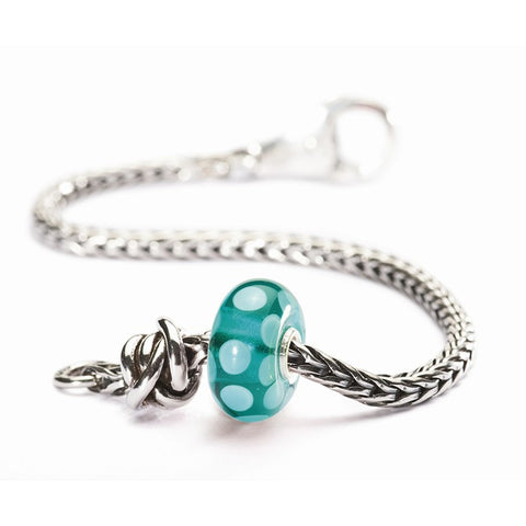 Trollbeads Bracelet Luck & Joy Soft Teal Silver