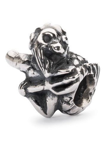 Trollbeads Bead Merman of Wisdom Silver