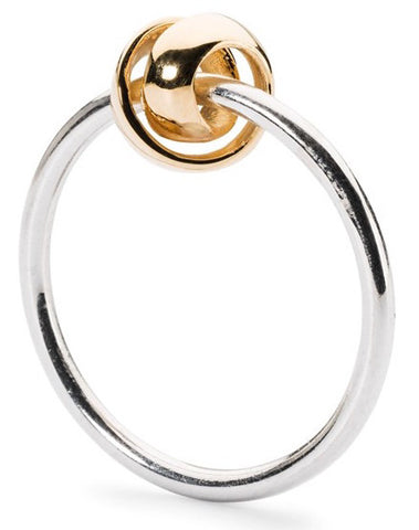 Trollbeads Ring Neverending Silver & Gold