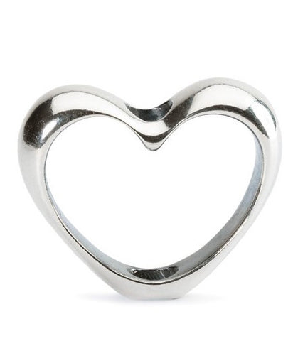 Trollbeads Pendant In Your Heart Silver