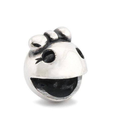 Trollbeads Bead Ms Ghost Fighter Silver