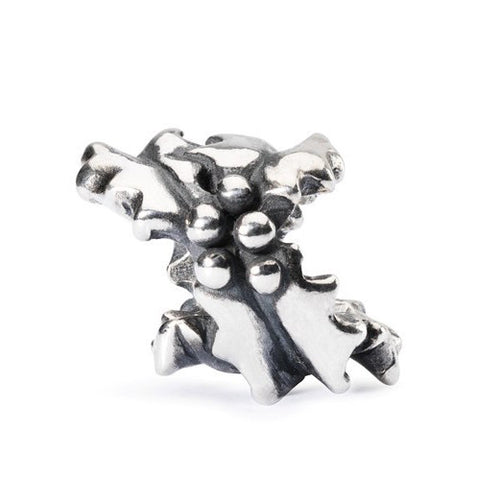 Trollbeads Bead Holly Bushes Silver