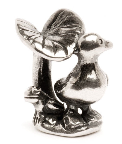 Trollbeads Bead The Ugly Duckling Silver