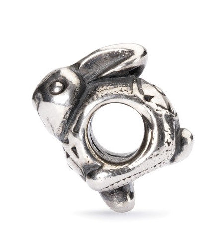 Trollbeads Bead Easter Bunny Silver