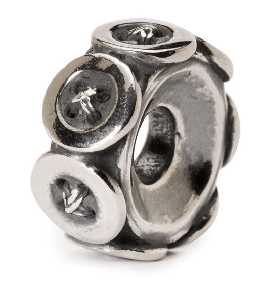 Trollbeads Bead Buttons Silver