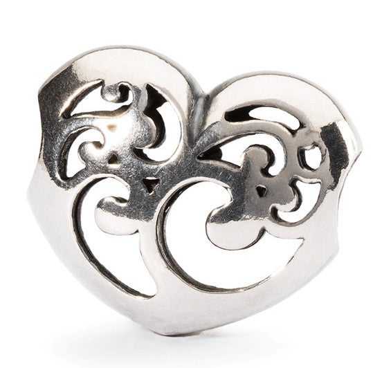Trollbeads Bead Caring Light Silver