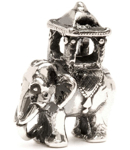 Trollbeads Bead Indian Elephant Silver
