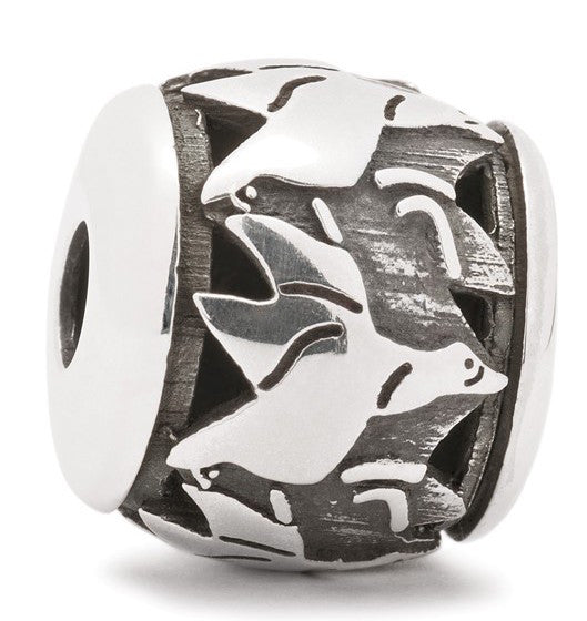 Trollbeads Bead Flying Geese Silver