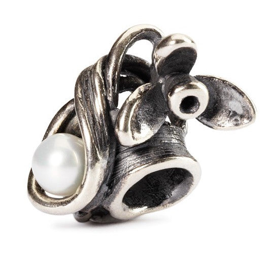Trollbeads Bead Snowdrop of January Silver