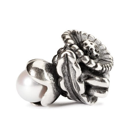 Trollbeads Bead Daisy of April Silver
