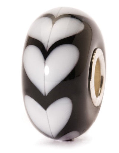 Trollbeads Bead White Heart