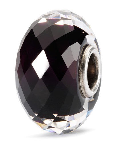 Trollbeads Bead Sahara Night Facet Silver