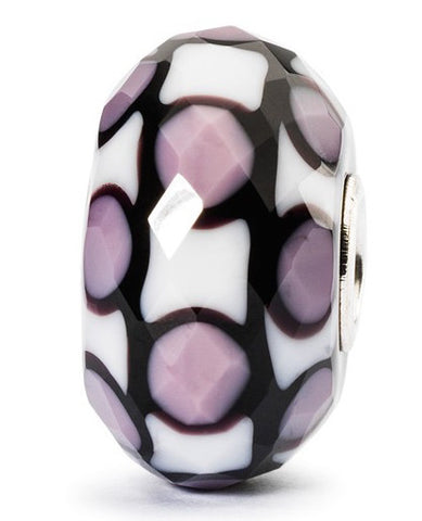 Trollbeads Bead Limited Lavender Facet Silver