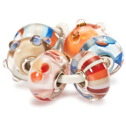 Trollbeads Bead Happy Summer Kit Glass