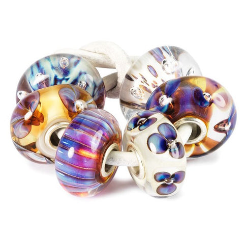 Trollbeads Bead Purple Heaven Kit Glass