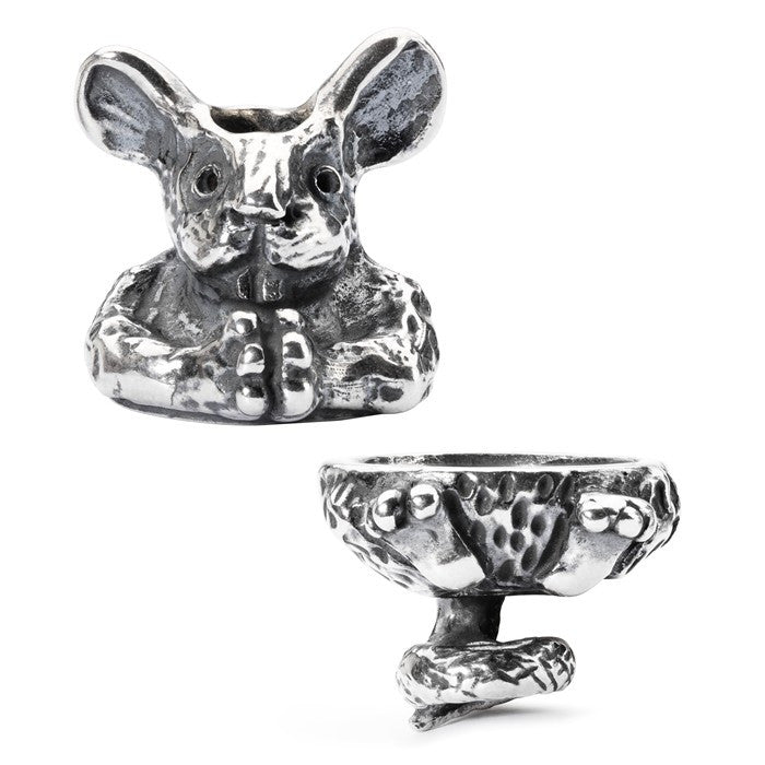 Trollbeads Pendant Fantasy Mouse Silver