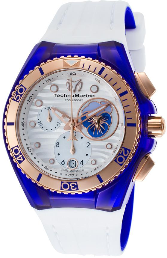 TechnoMarine Watch Cruise Beach Pansy TM-114005