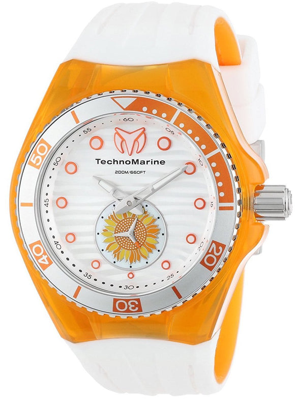 TechnoMarine Watch Cruise Beach Sunflower TM-113023