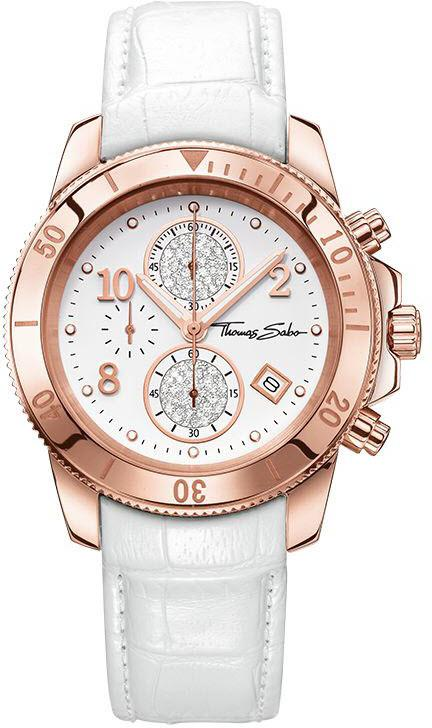 Thomas Sabo Watch Glam & Soul Ladies Chronograph WA0203-269-202-40